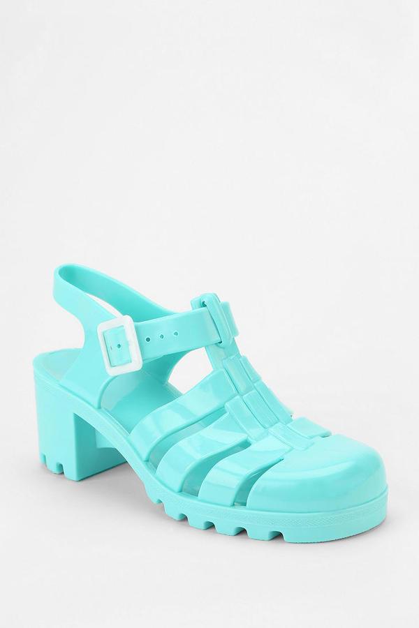 JuJu Footwear Babe Jelly Heeled Sandal