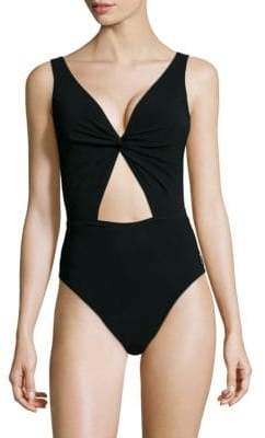 Shan Cutout One-Piece Swimsuit