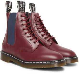 Neighborhood + Dr. Martens Filth And Fury Printed Leather Boots