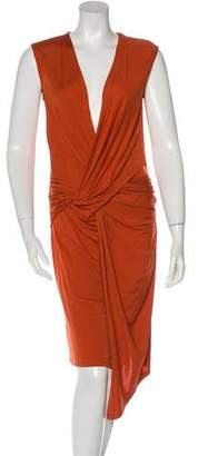 Costello Tagliapietra Draped Midi Dress