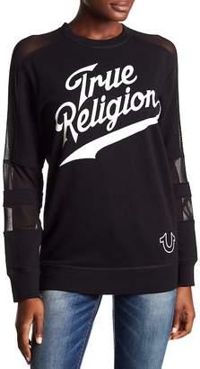 True Religion True Athlete Mesh Insert Pullover