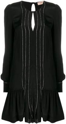 Twin-Set short flared dress