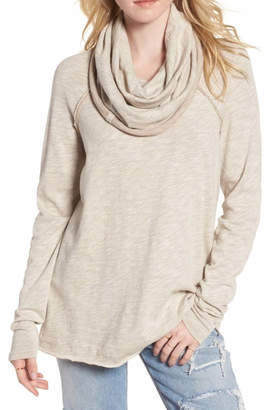 Free People Cocoon Cowl Neck Pullover