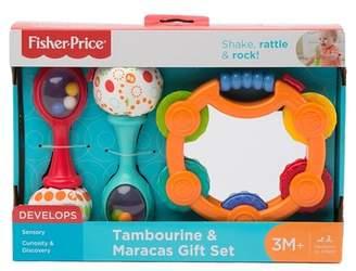 Fisher-Price Tambourine & Maracas Gift Set