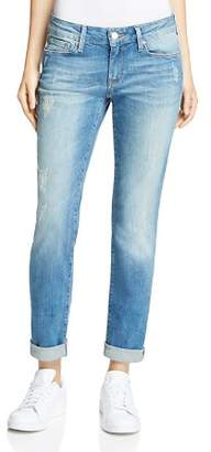 Mavi Jeans Emma Slim Boyfriend Jeans in Mid Shaded Vintage
