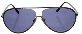 Tom Ford Cecillio Aviator Sunglasses