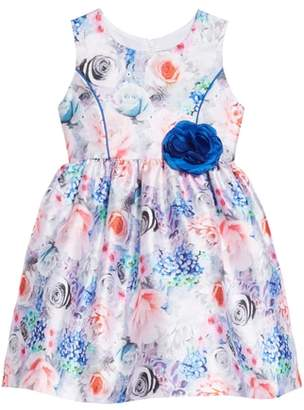 Frais Floral Art Fit & Flare Dress