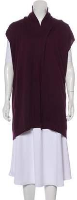 Akris Punto Wool Open Front Vest