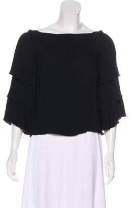 Ella Moss Short Sleeve Off-the-Shoulder Top