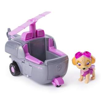 Paw Patrol Transforming Vehicle Skye's Helicopter with Flip-Open Turbines