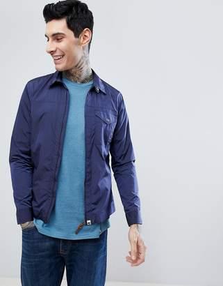 Pretty Green zip jacket in navy