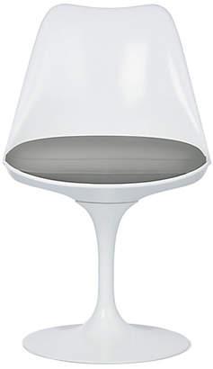 Design Within Reach Knoll Saarinen Tulip Armless Chair, Grey at DWR