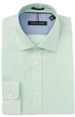 Tommy Hilfiger Micro Check Slim Fit Dress Shirt
