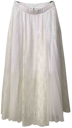 Imperial Star White Skirt for Women