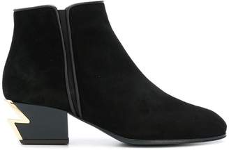 Giuseppe Zanotti Design round toe boots
