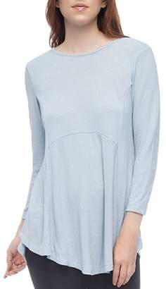 Bobeau B Collection by Brushed Tunic Top
