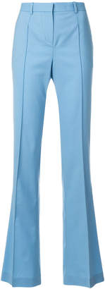 Versace flared tailored trousers