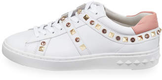 Ash Play Studded Leather Sneakers