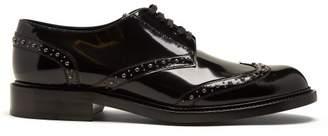 Saint Laurent Stud-embellished leather brogues