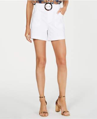 INC International Concepts I.n.c. Belted Shorts
