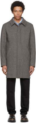 Harmony Grey Check Max Coat