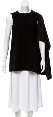 Rosetta Getty Drape Accented Sleeveless Top w/ Tags