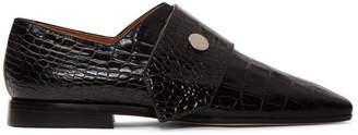 Victoria Beckham Black Daxton Loafers