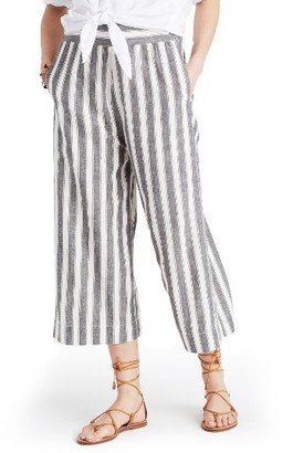 Women's Madewell Huston Pull-On Crop Pants $69.50 thestylecure.com