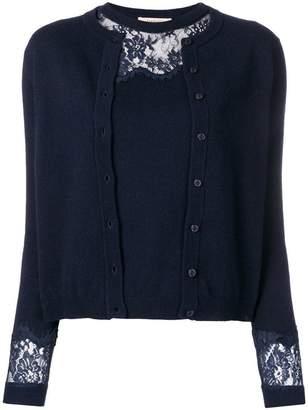 Twin-Set sweater and cardigan set