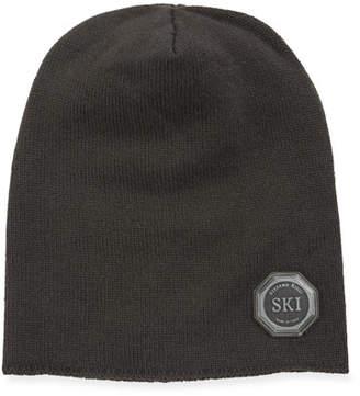 Stefano Ricci Boys' Ribbed Cashmere Beanie Hat