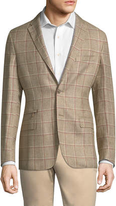Corneliani Check Suit Jacket