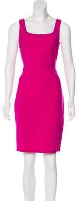 Gianni Versace Sleeveless Knee-Length Dress