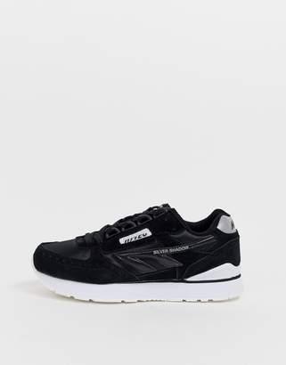 Hi-Tec Silver Shadow trainers in black