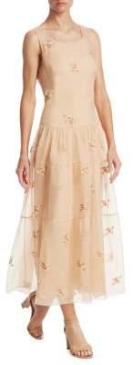 Ralph Lauren Trinity Embroidered Dress