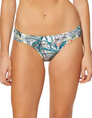 Jessica Simpson Side Shirred Hipster Bikini Bottom