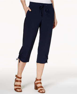 Style&Co. Style & Co Ruched Capri Jogger Pants