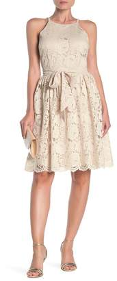 Alexia Admor Dion Fit & Flare Lace Dress