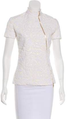 Christian Dior Jacquard Zip-Up Jacket
