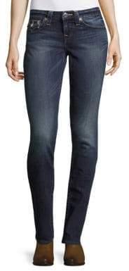 True Religion Slim-Fit Ankle-Length Jeans