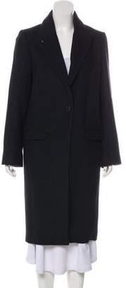Zadig & Voltaire Monarque Wool-Blend Long Coat