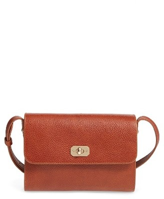 A.p.c. Designer Greenwich Leather Crossbody Bag - Red $500 thestylecure.com
