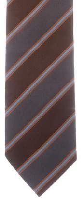 Burberry Silk Striped Tie