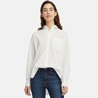 Uniqlo Women's Extra Fine Cotton Long-sleeve Shirt