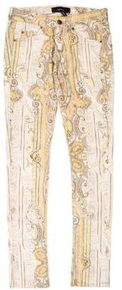 Isabel Marant Low-Rise Printed Jeans w/ Tags
