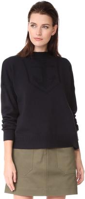 Belstaff Sabrine Guernsey Sweater $550 thestylecure.com