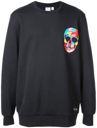 Puma Skull print hoodie