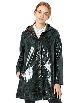 Urban Republic Women's Juniors Vinyl Shiny Jacket,M