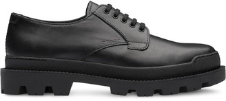 Prada Leather laced shoes