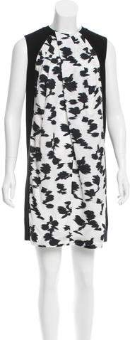 Balenciaga Balenciaga Abstract Colorblock Dress