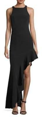 Floor-Length Sleeveless Dress